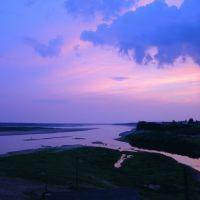 Закат в Верхней Тойме, Верхняя Тойма