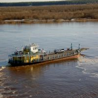 First ferry, Верхняя Тойма
