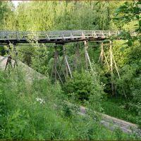 Мост через овраг, Верхняя Тойма