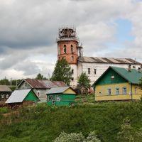 Ильинско-Подомское. Церковь Илии Пророка, Ильинско-Подомское