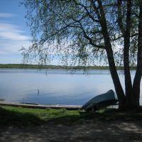 Каргополь. Река Онега Kargopol. Onega River