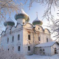Воскресенская церковь конца XVII века.  29.12.2005, Каргополь