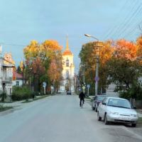 Улица Ленинградская 04.10.10, Каргополь