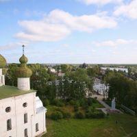 Вид с соборной колокольни, Каргополь