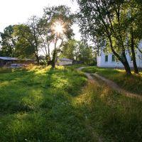 Низкое солнце в конце лета, Каргополь