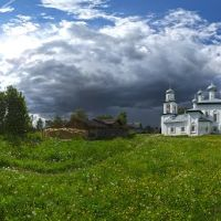 Каргополь. Старая площадь 14.06.2012 (panorama 360), Каргополь