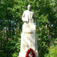 памятник Ленину в Карпогорах, Карпогоры