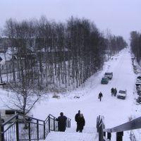 Улицы Коноши зимой., Коноша