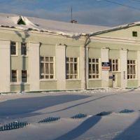 Вокзал ст.Коноша зимой, Коноша