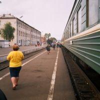 Kotlas railway station, Котлас
