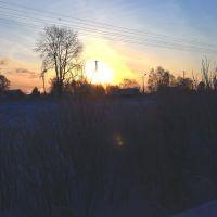 Морозное утро, Котлас