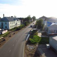 Ул.Володарского с пешеходного моста, Котлас