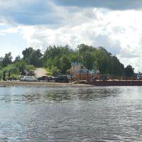 Motorboat by Verkhnaya Dvina, Kotlas - Toima, Красноборск