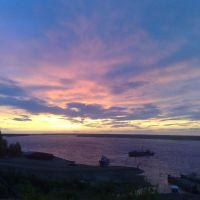 закат, Красноборск