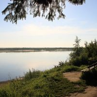 утро над Северной Двиной, Красноборск