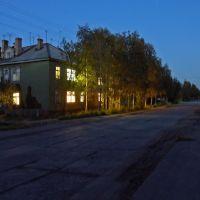 Пр. Советский ночью, Мезень