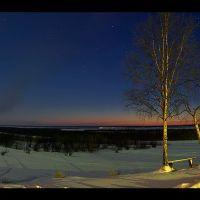 Winter panoram, Мезень