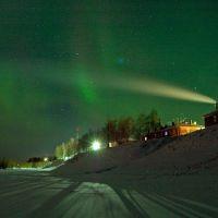 Aurora borealis, Мезень