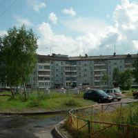 В одном из дворов. 170709, Новодвинск