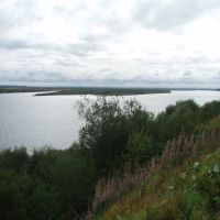 протока Мечка-Полой, Новодвинск