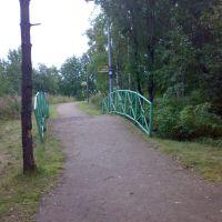 г.Новодвинск, горбатый мостик, Новодвинск