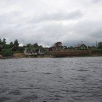 Пристань в Пинеге, Пинега