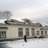 жд-станция Плесецкая, Плесецк