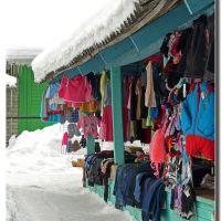 I colori del mercato della stazione di Plesetsk, Плесецк
