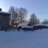 Зима в Плесецке, Плесецк