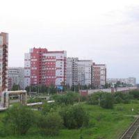 ул. Юбилейная и дорога на Нёноксу, Северодвинск