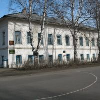 Здание городской библиотеки в Сольвычегодске, Сольвычегодск