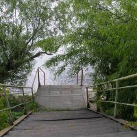 Лестница к реке, Сольвычегодск