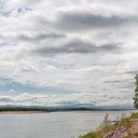 Сольвычегодск, Благовещенский собор и река Вычегда, Сольвычегодск