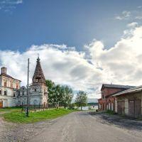 Сольвычегодск вид на церковь Спаса Обыденного, Сольвычегодск