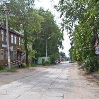 Шенкурск,улица Ленина., Шенкурск