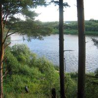 Вид на реку Вага, Шенкурск
