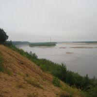 """Вид на остров """"Зелёный"""", Шенкурск"""