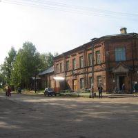 Площадь, Шенкурск