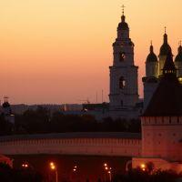 Астраханский кремль на рассвете, Астрахань