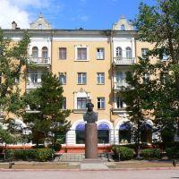 Memorial to A.S.Pushkin, Астрахань