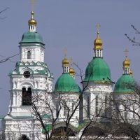 Астрахань. Успенский собор. Вид из Кремля, Астрахань