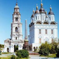 Астраханский кремль. Памятник революционерам, уже не существующий, Астрахань