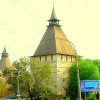 Astrachan - Wehrtürme in der Kreml-Mauer, Астрахань