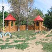 Детская площадка в парке, Ахтубинск