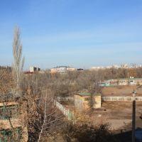 Вид с 4-го этажа, Ахтубинск