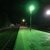 Станция Верхний Баскунчак, Вид в сторону Ахтубинска, Верхний Баскунчак