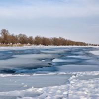 Чурка зимой, Володарский
