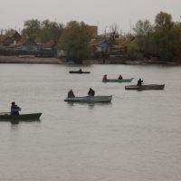 река Хурдун. рыбаки, Икряное