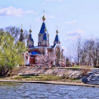 Church Smolensk Divine Mother. Церковь Иконы Смоленской Божьей Матери, Камызяк