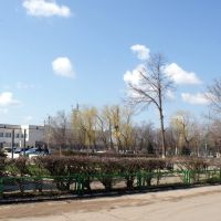 Площадь, почтамт и сквер г. Камызяк, Камызяк
